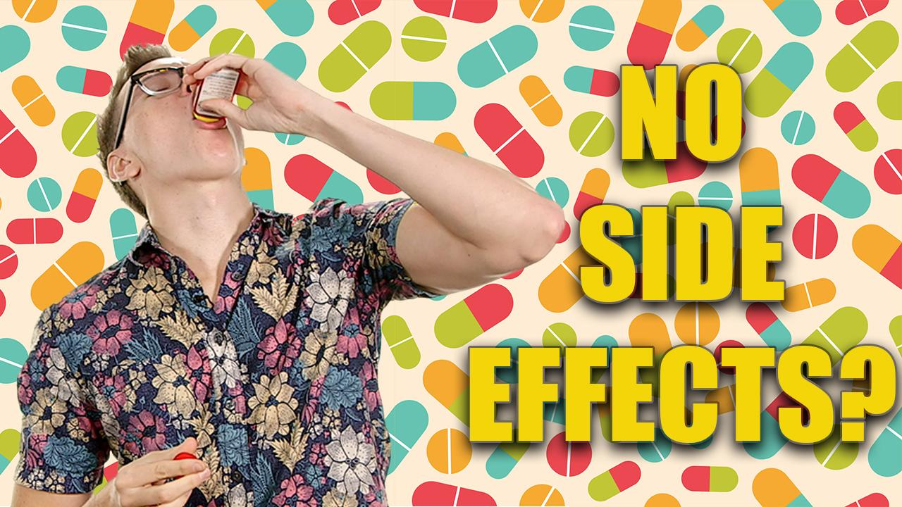 NON-ADDICTIVE PAINKILLER HAS NO SIDE-EFFECTS