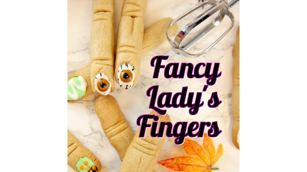 How to Make Fancy Lady's Fingers