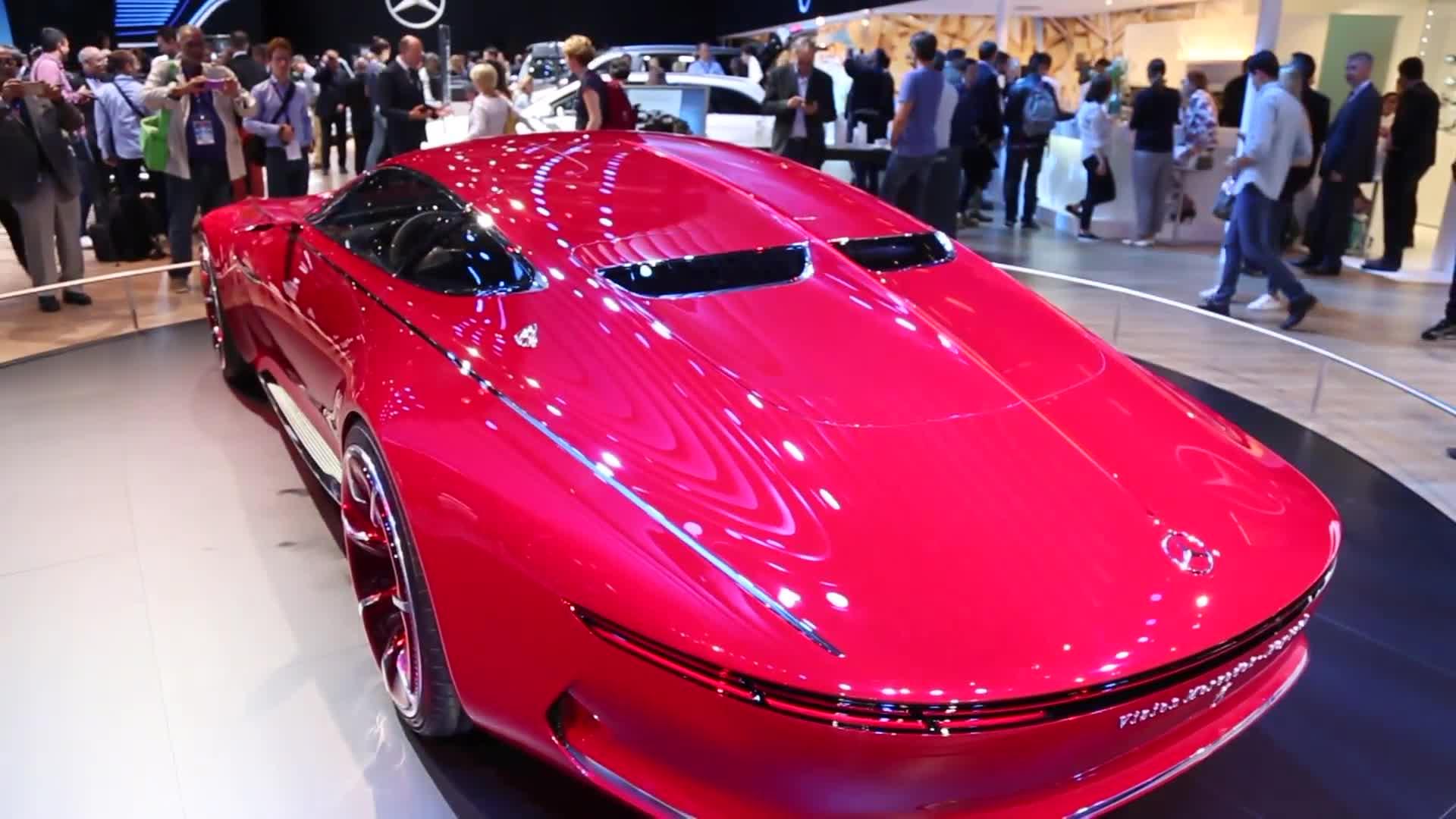 Mercedes Maybach Vision 6 at Paris Motor Show 2016