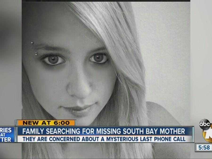 Search for missing South Bay mother
