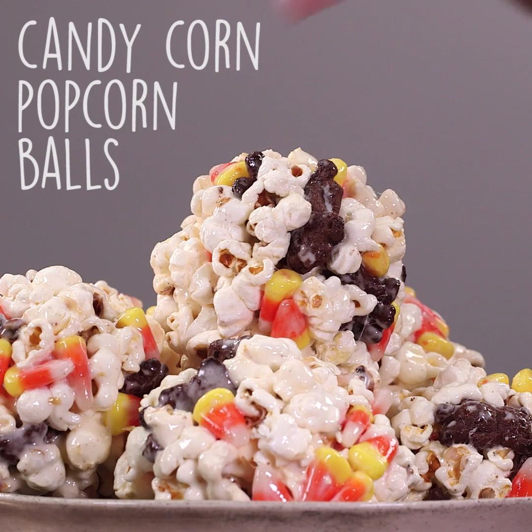 How to Make Corny Candy Popcorn Balls