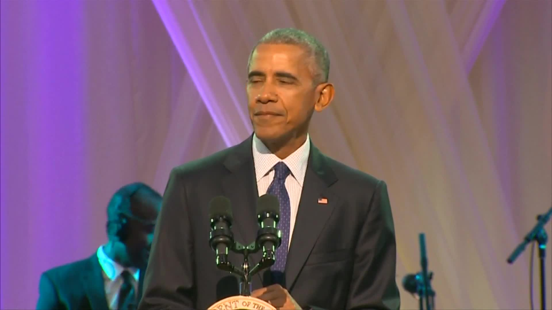 "Obama: ""I will not be singing Al Green"""