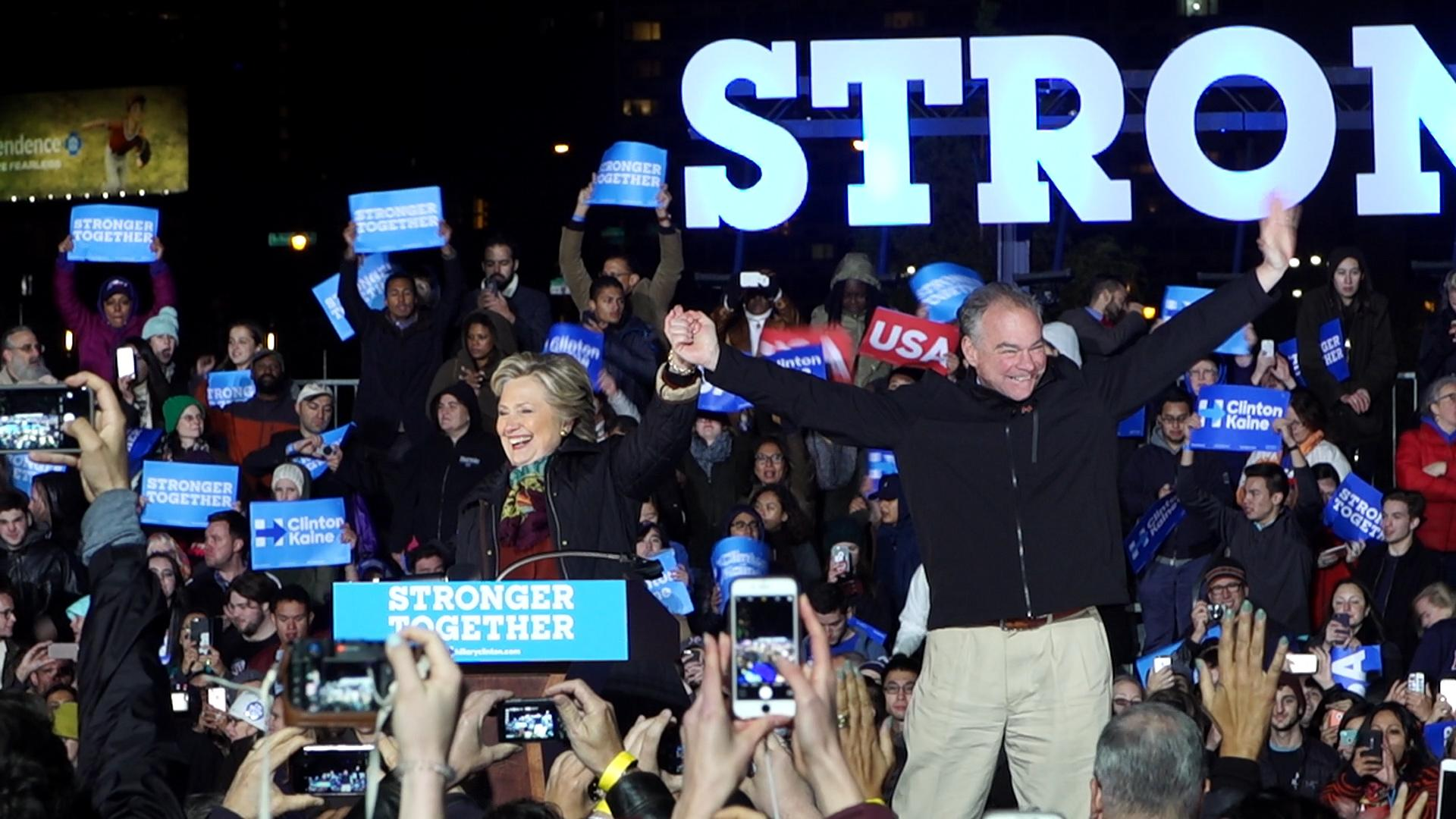 Clinton supporters confident, but not complacent, in Philadelphia