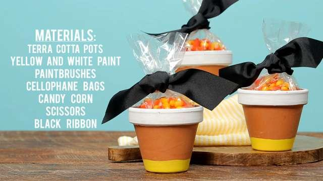 Candy Corn Party Favors