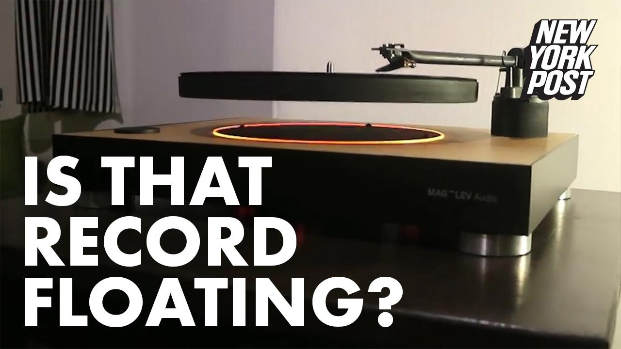These Vinyl Record 'Float' Players Bring Retro to the Future