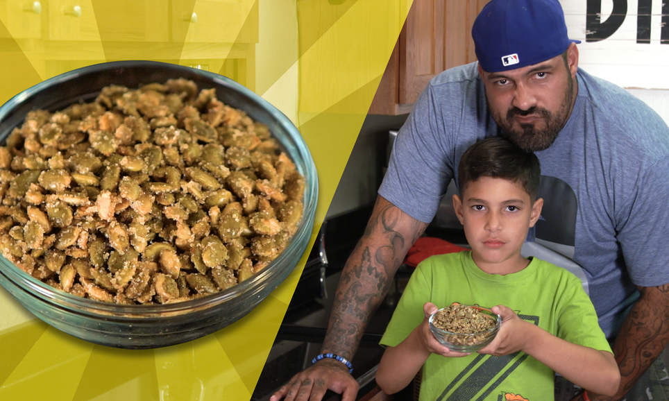 Recipes with Rocco: Spicy Pumpkin Seeds