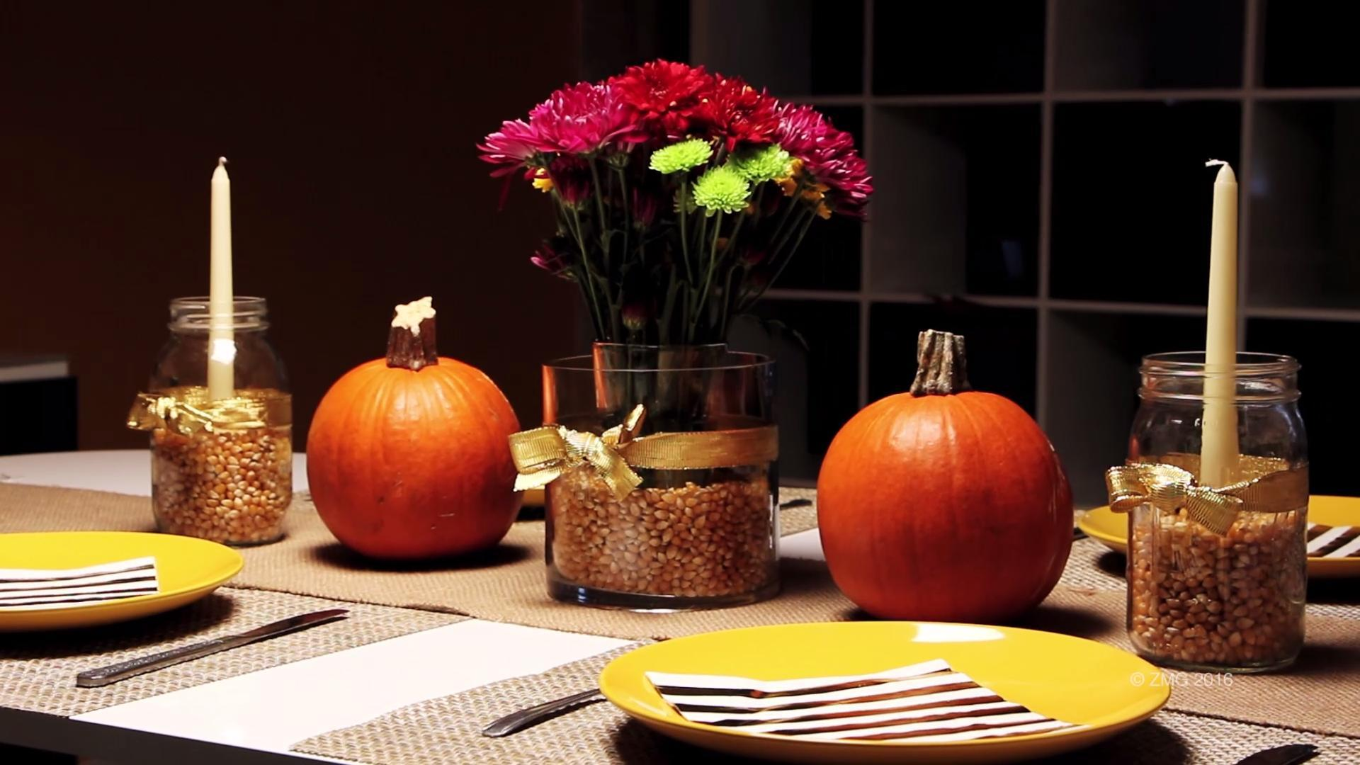 Inexpensive Table Setting Tips for Friendsgiving
