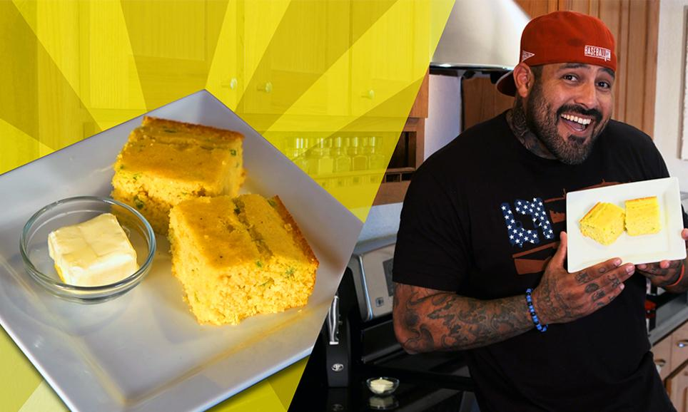 Recipes with Rocco: Sweet Jalapeno Cornbread