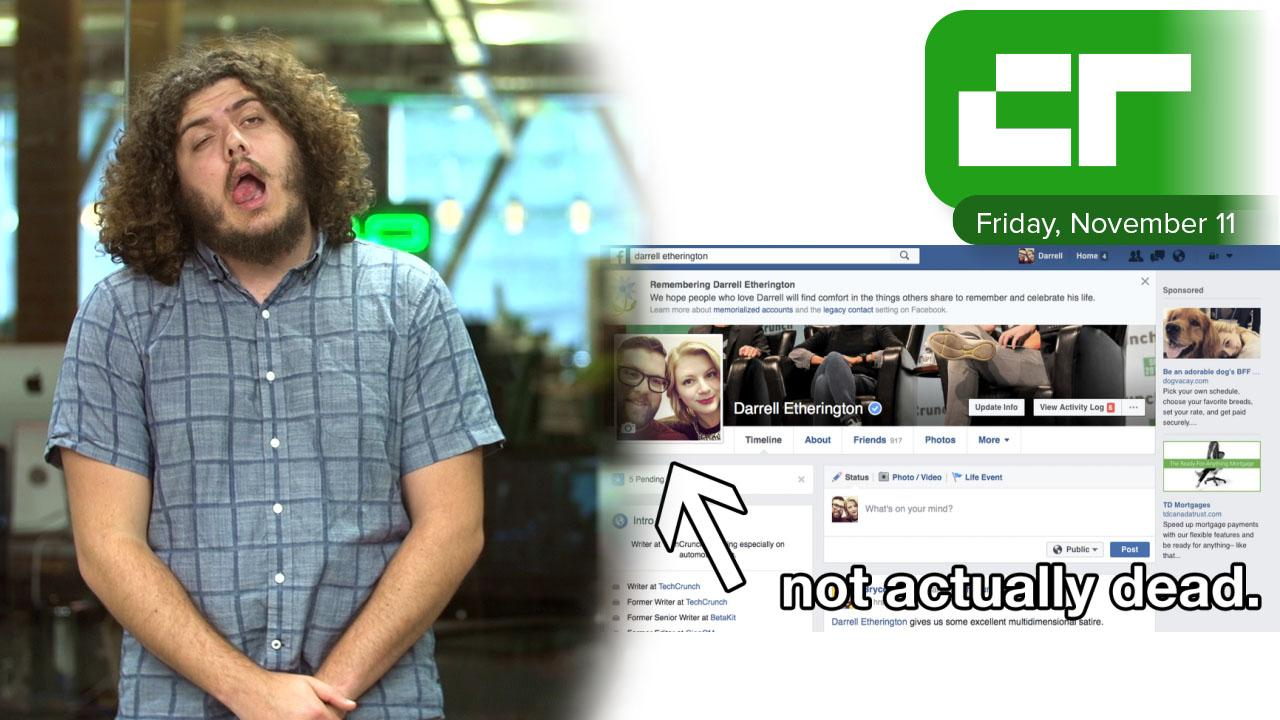 Crunch Report | Facebook Made Us All Dead