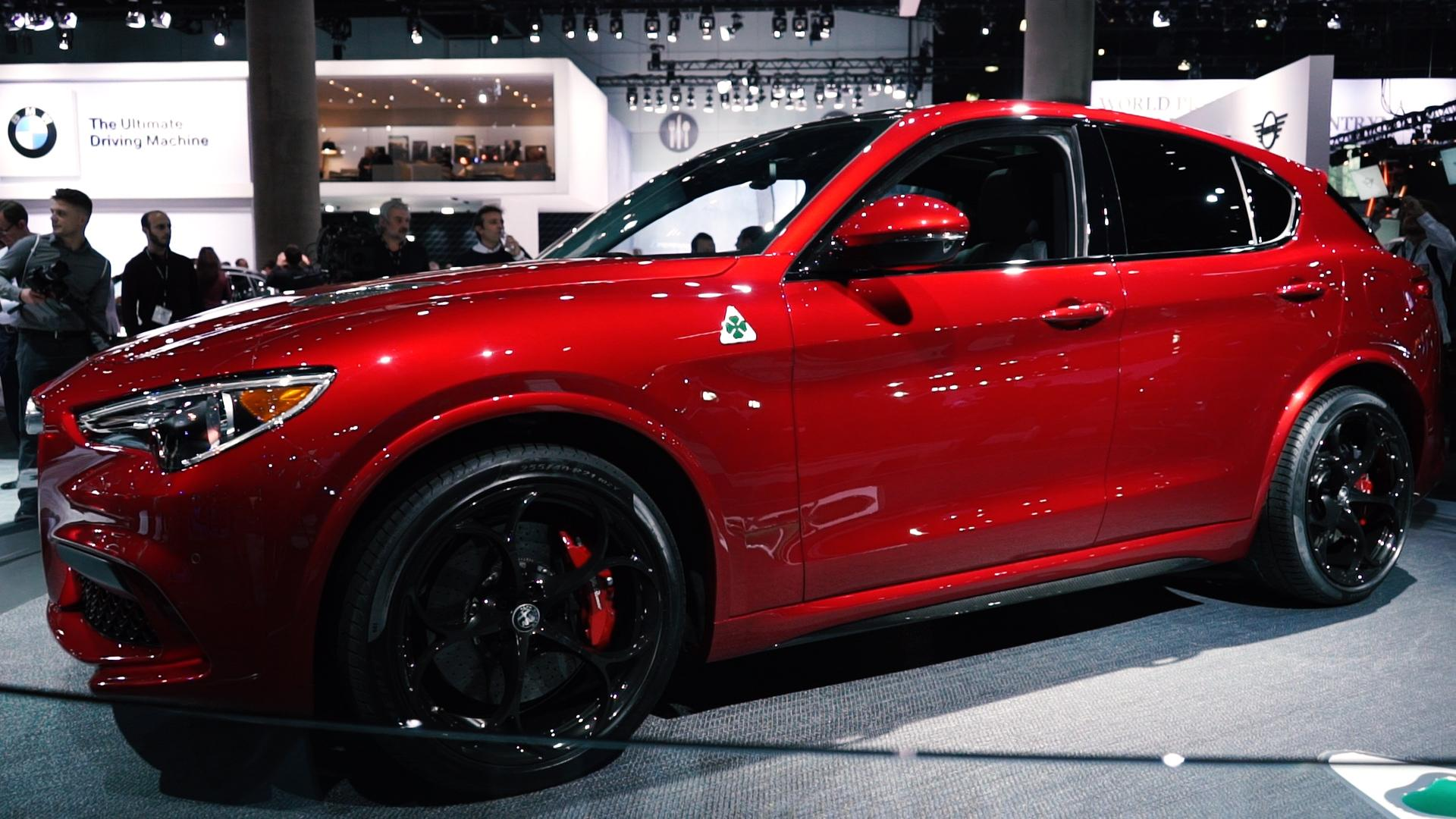 2018 Alfa Romeo Stelvio Quadrifoglio Quick Spin Review Autoblog