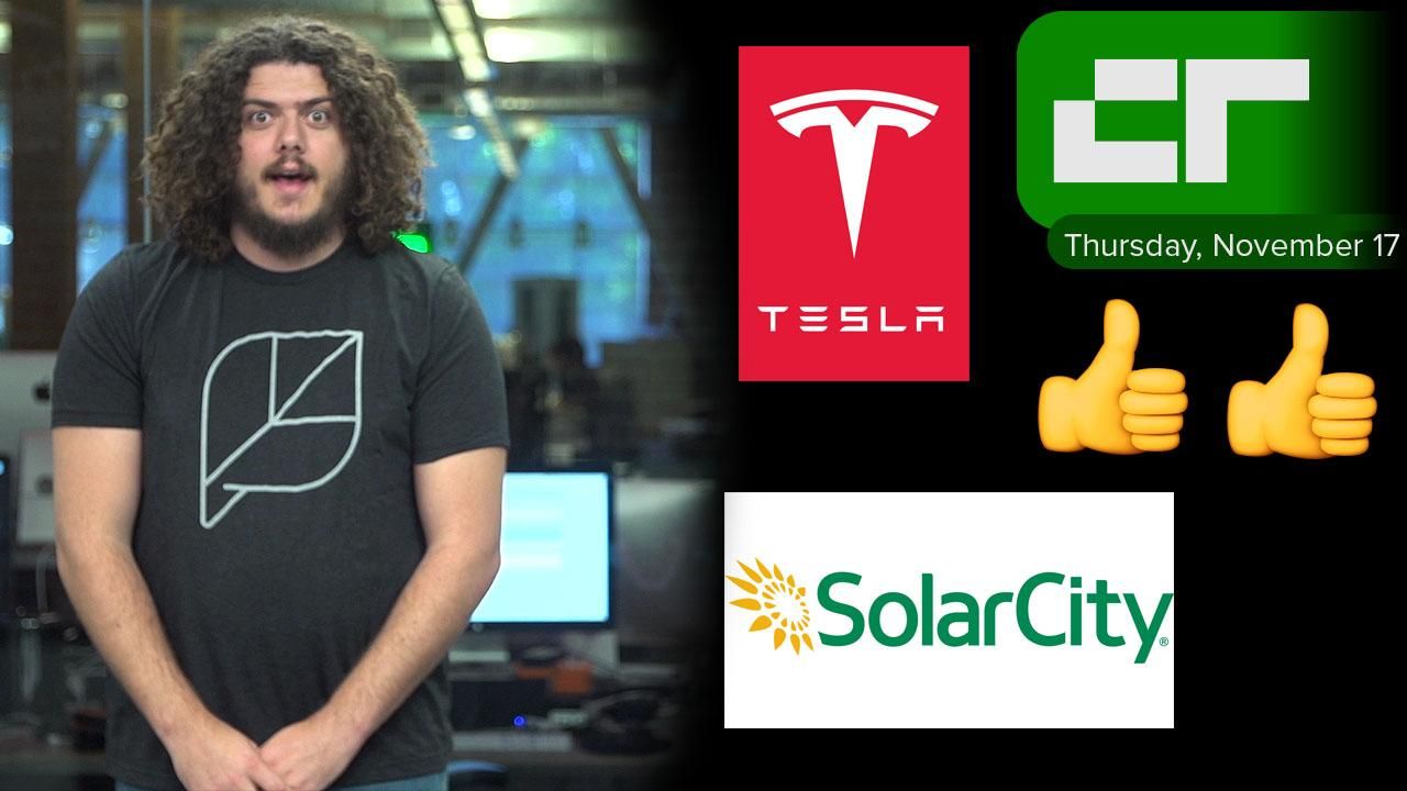 Crunch Report | Tesla Acquisition of SolarCity Approved