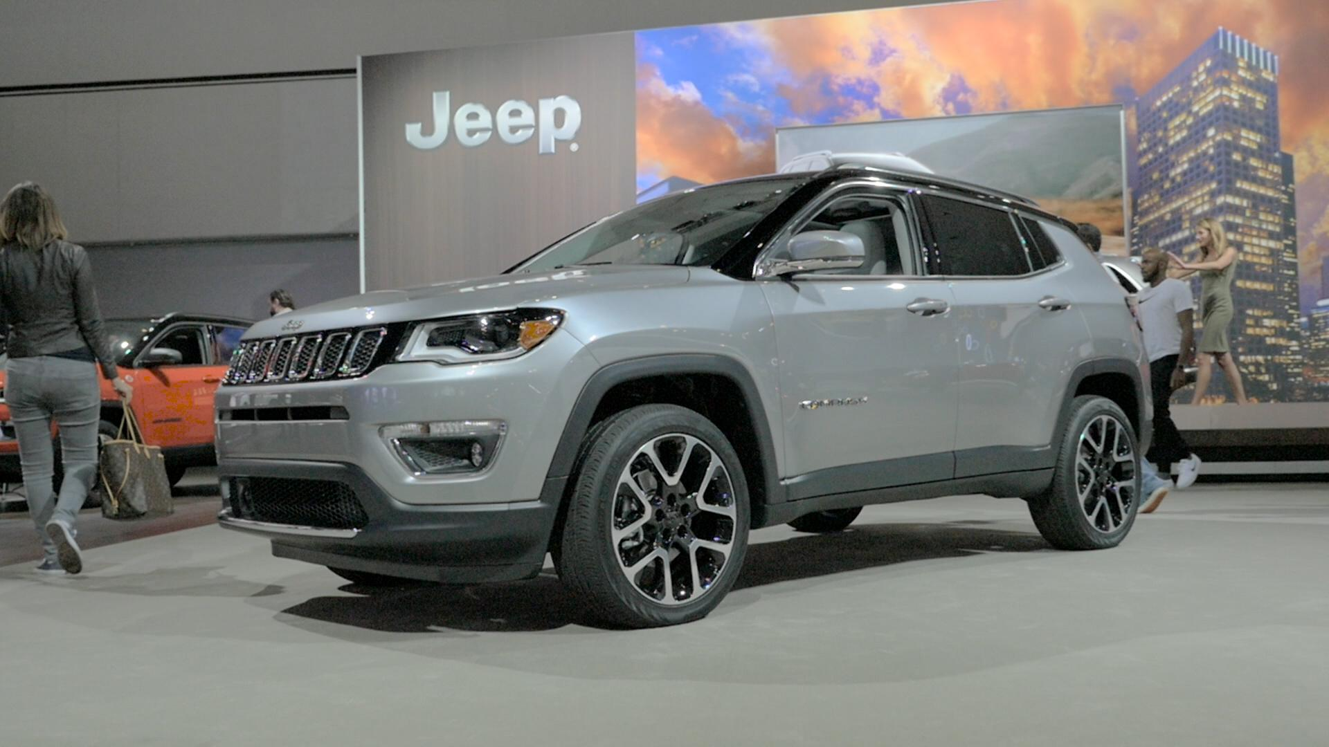 100 Jeep Compass 2017 White 2017 Jeep Compass