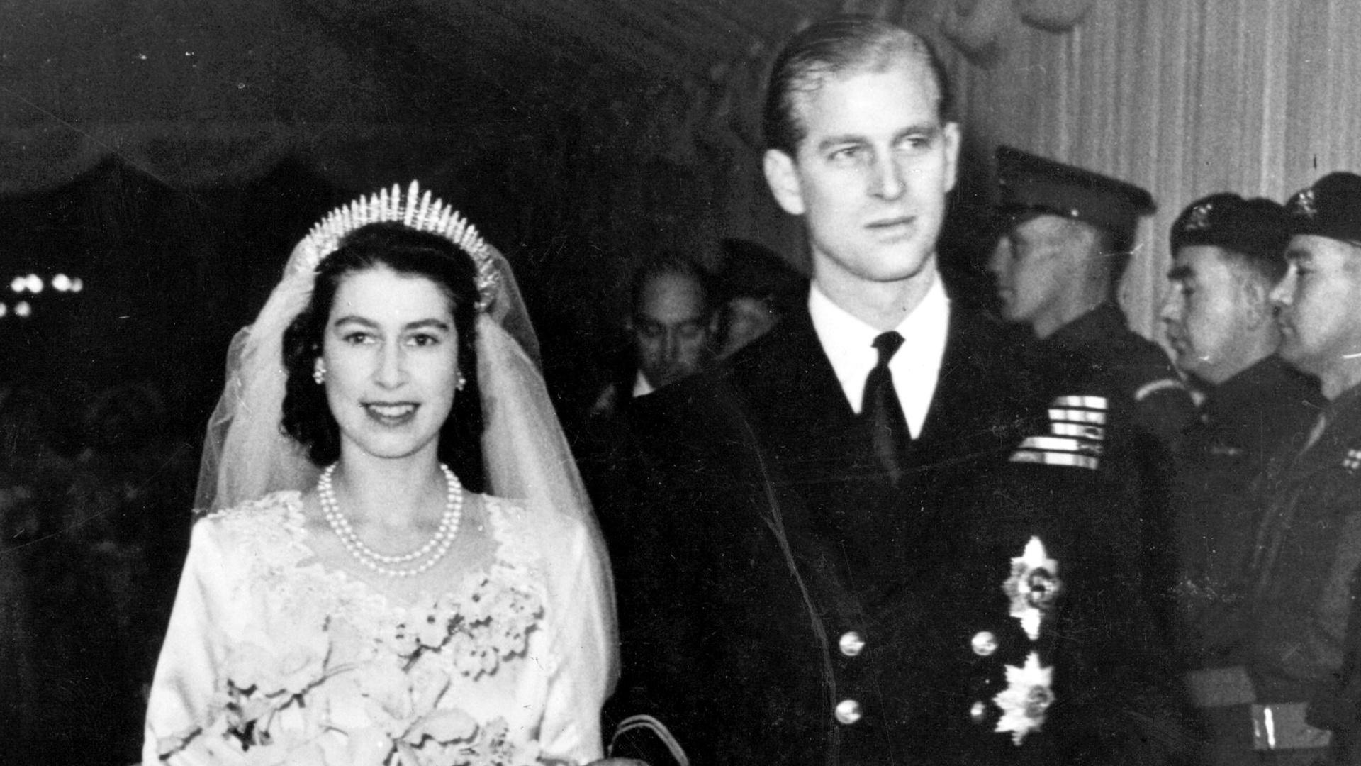 A Look Back At Queen Elizabeth & Prince Philip's Wedding Day