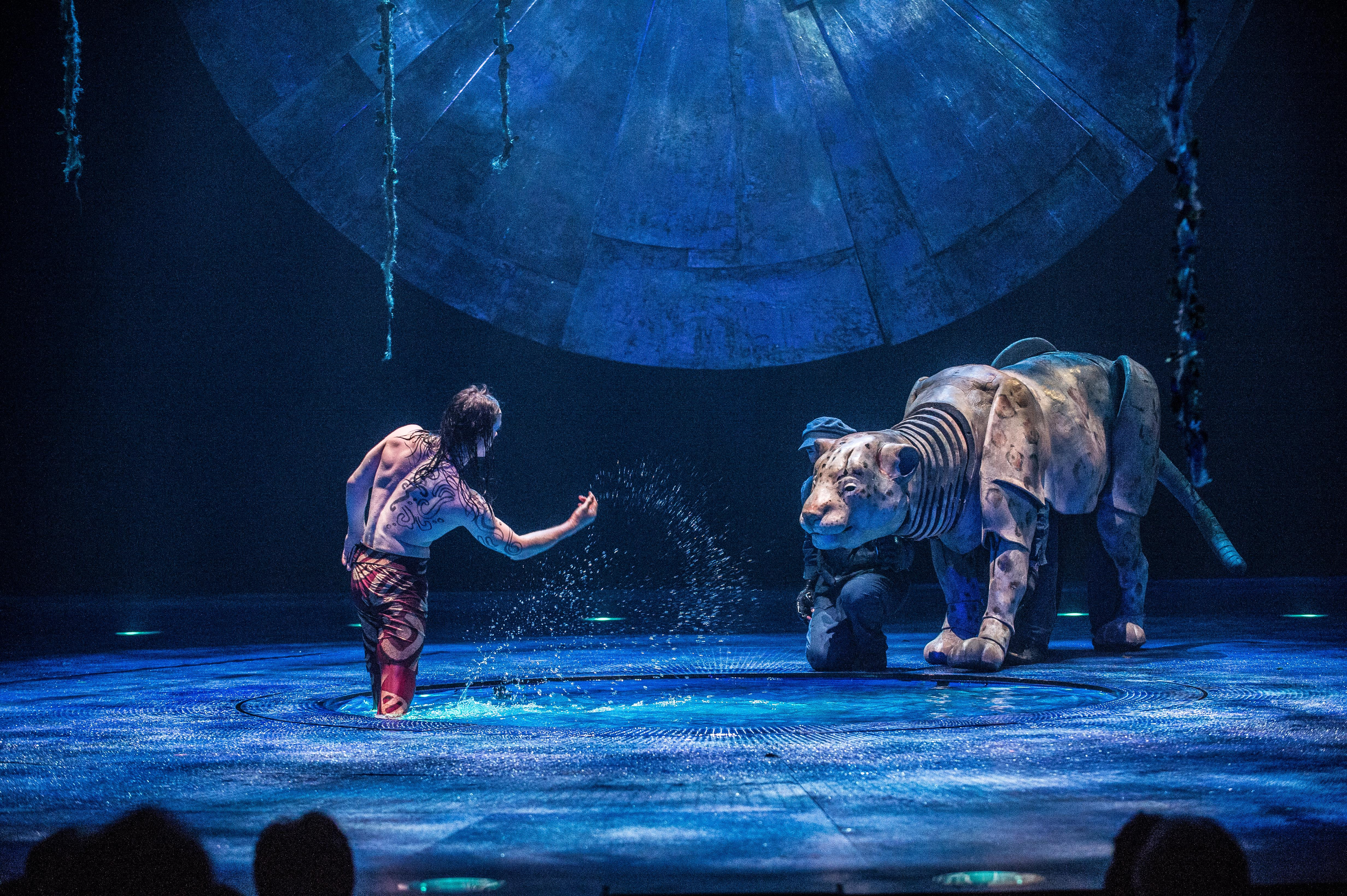 Behind The Scenes with the tech powering Cirque Du Soleil's newest show, Luzia