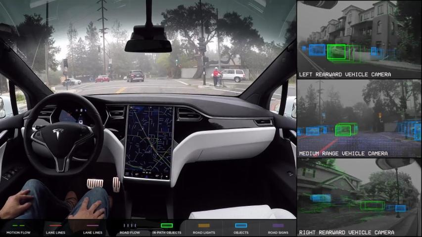 See How Autonomous Cars View The Road
