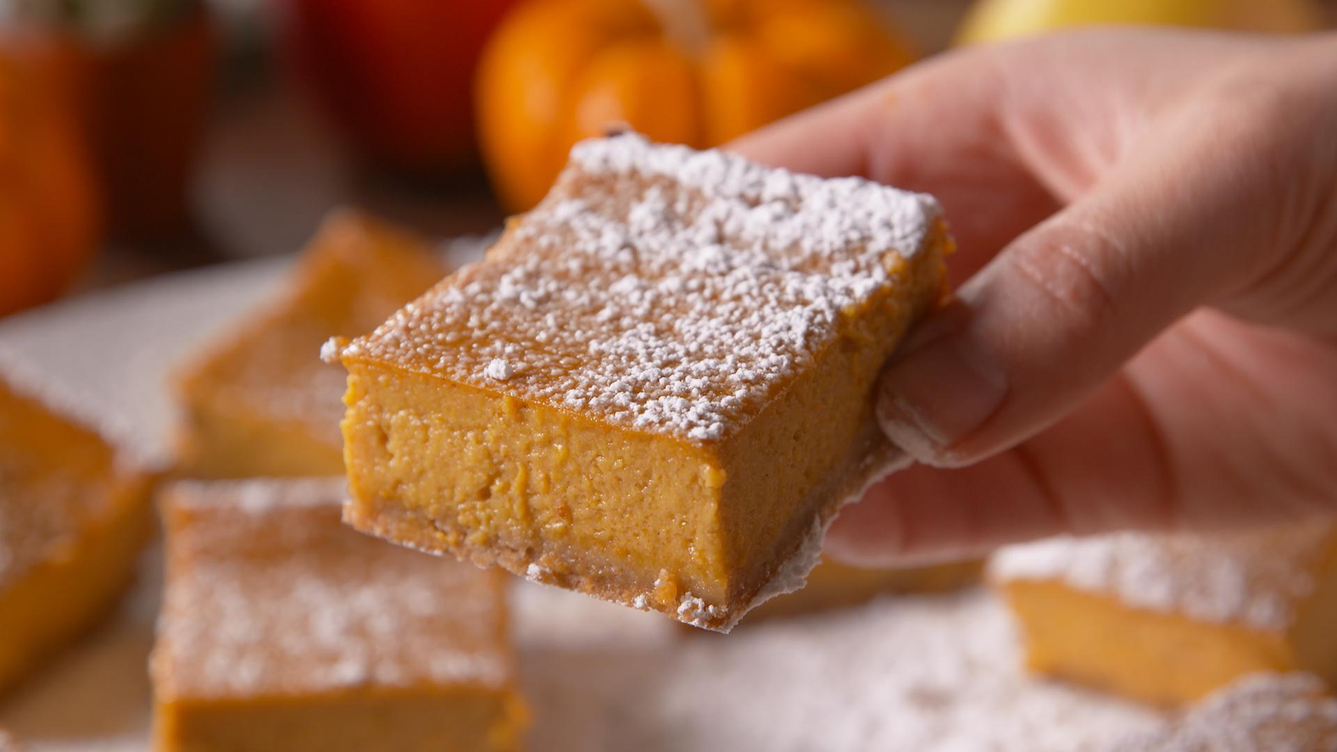 These Pumpkin Dream Bars are a Gluten-Free Dream Come True