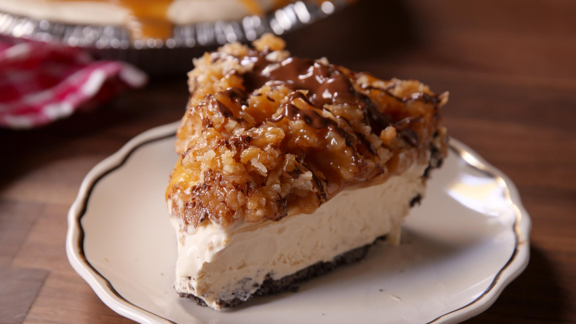 Samoa Pie Is Even Better Than the Girl Scout Cookie