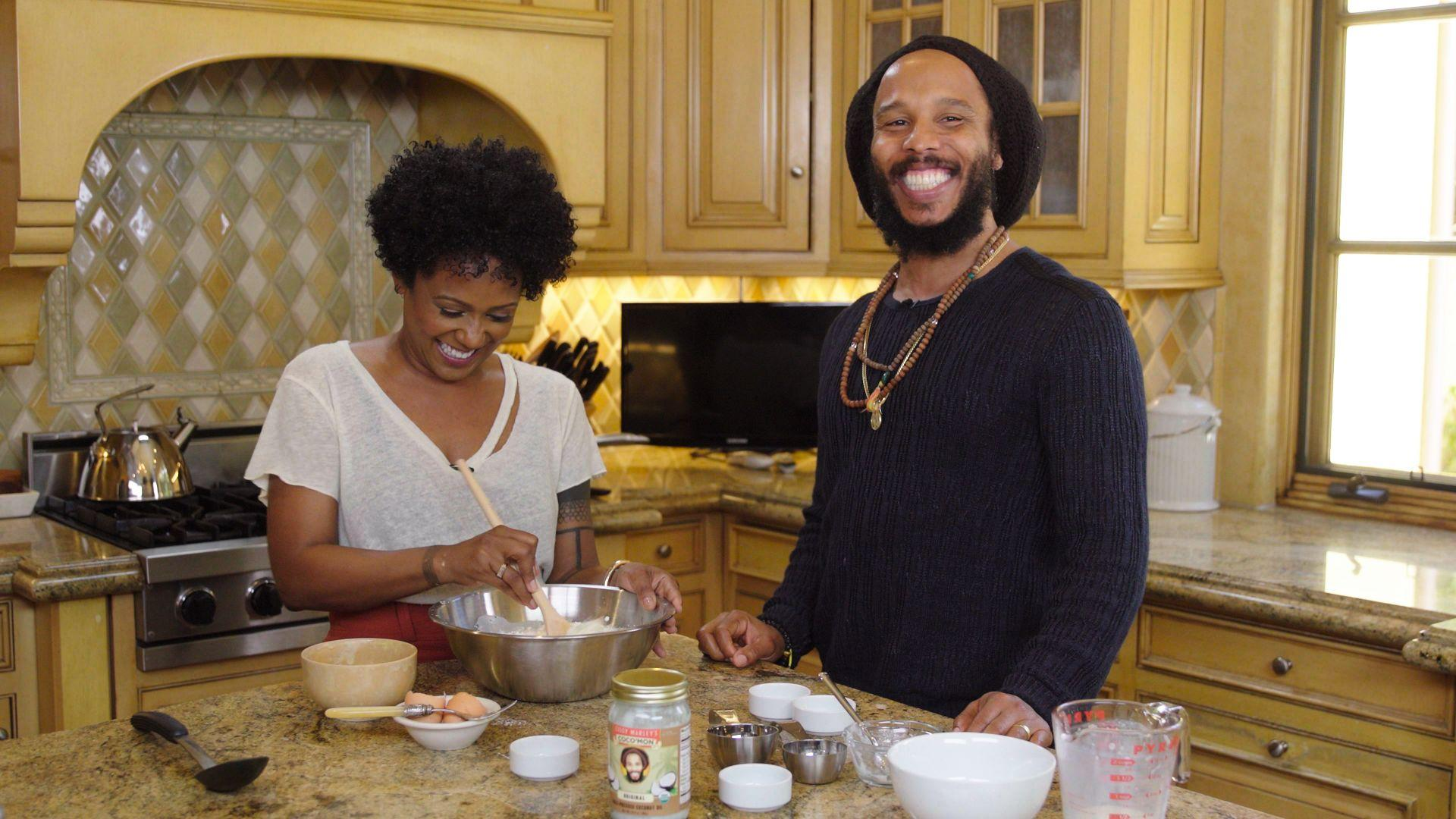 Ziggy Marley's Coconut Pancakes Are Good for Any Time of Day
