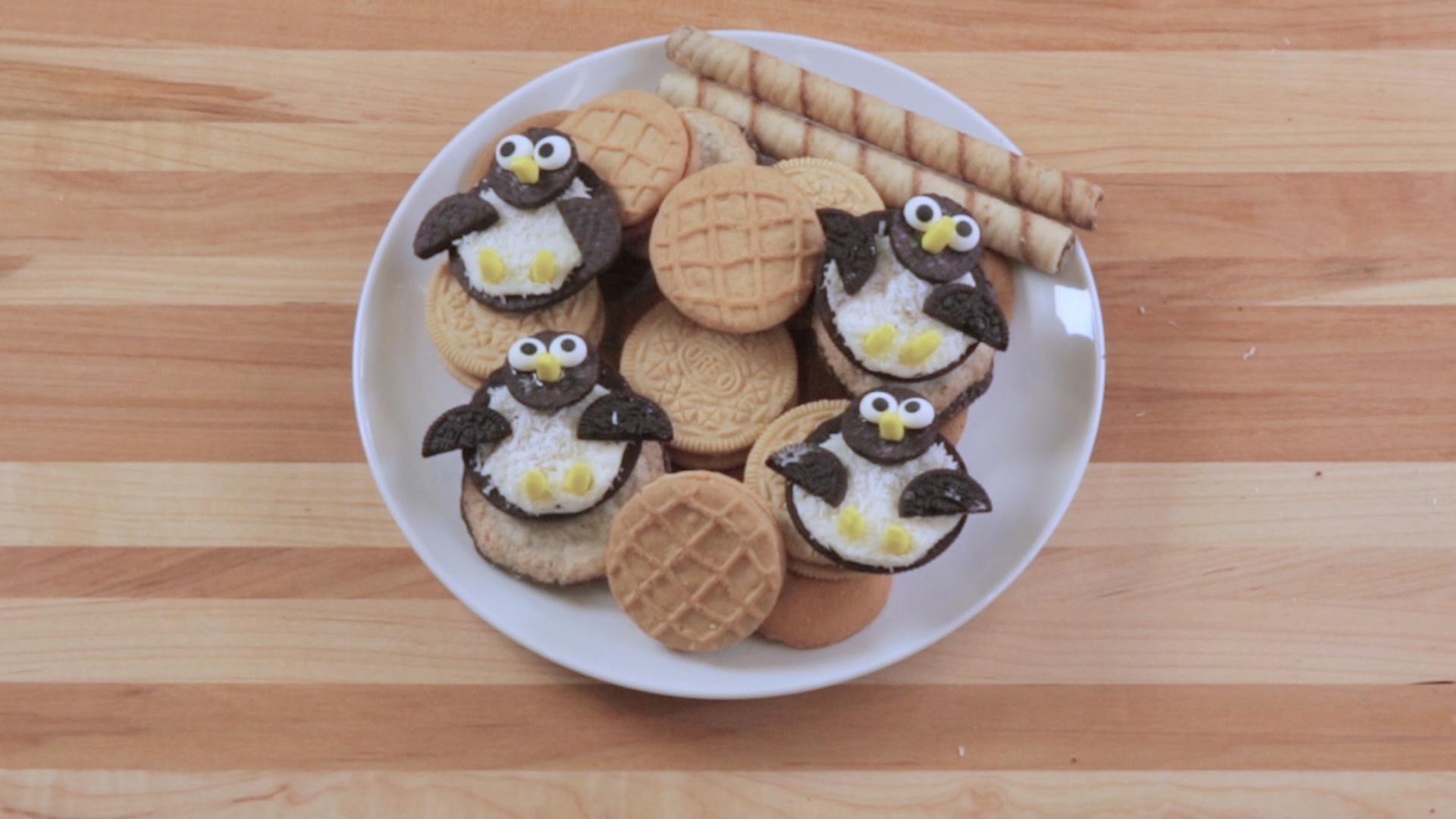 Oreo Penguin Cookies