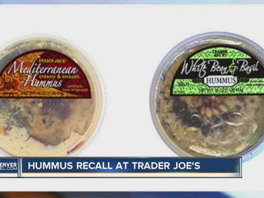 Hummus recall at Trader Joe's