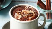 Toasted Coconut and Cinnamon Hot Chocolate Recipe