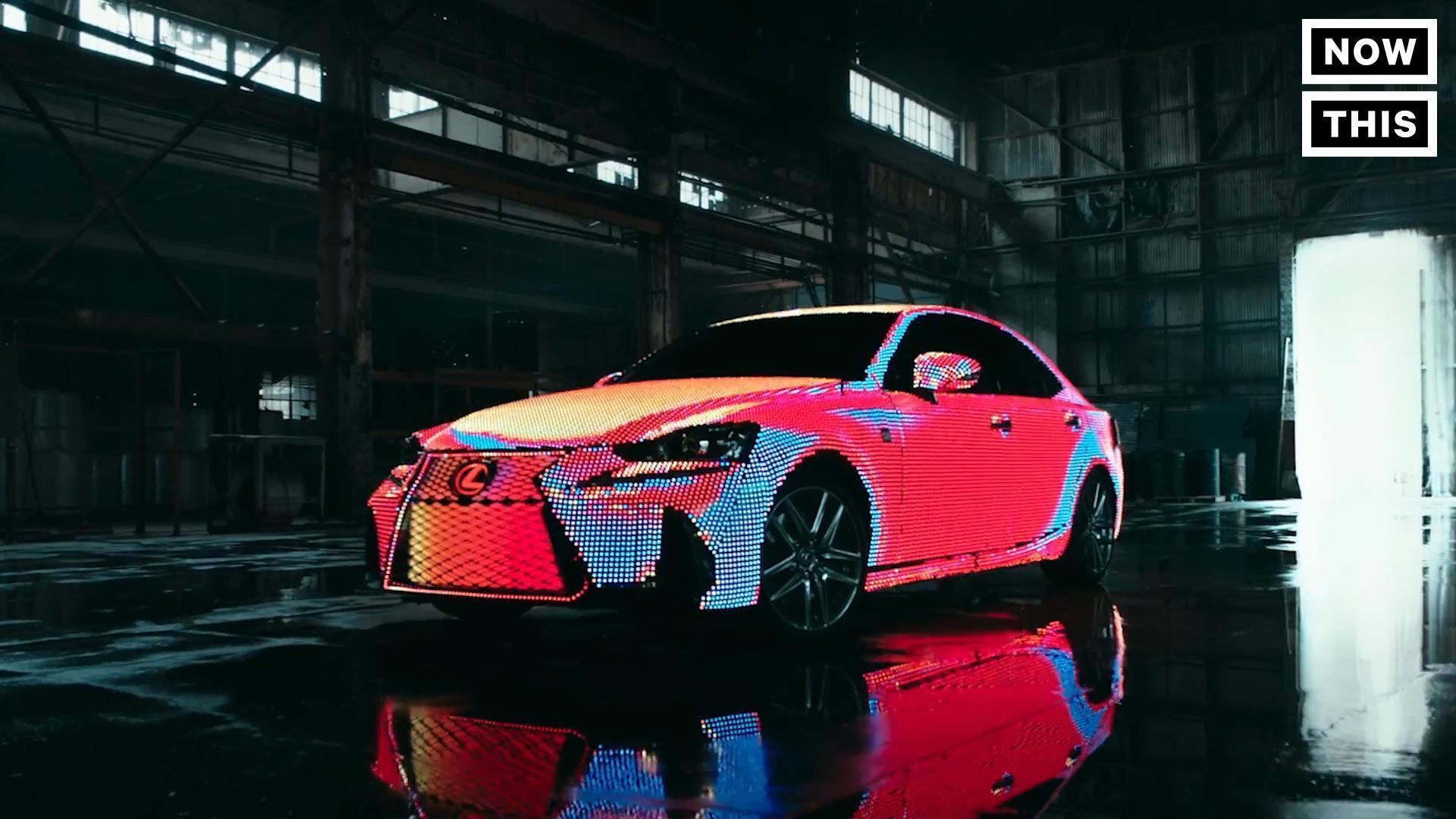 This Lexus Is Covered In 41,999 LED Lights