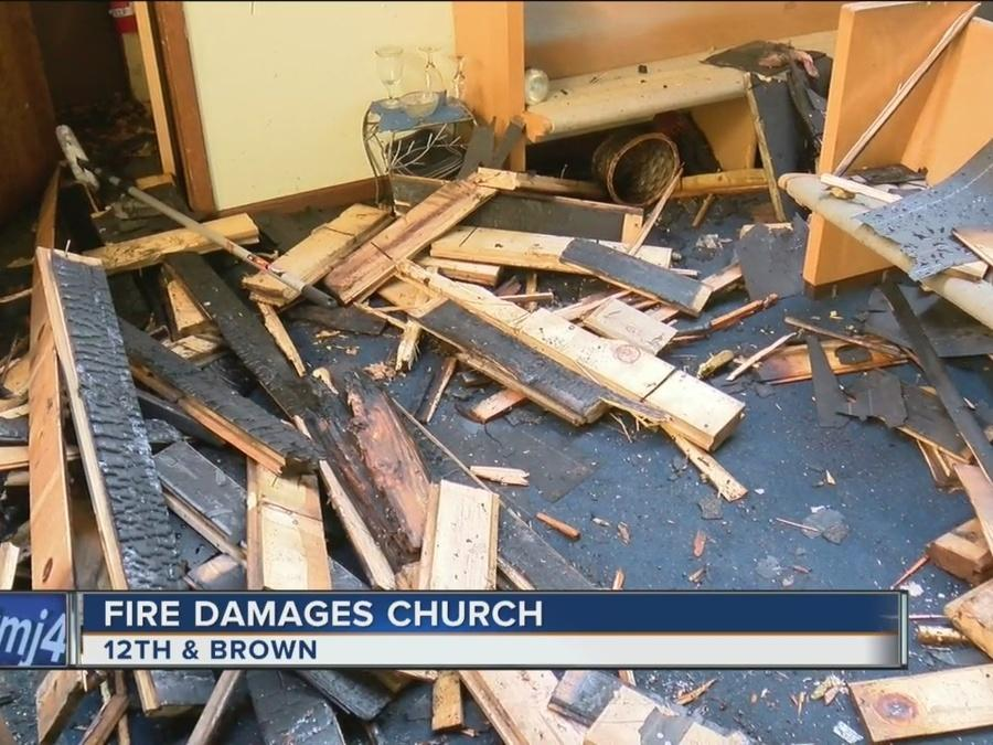 Early morning fire causes $100K in damages to Milwaukee church