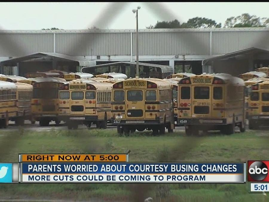 Hillsborough County School District votes to eliminate courtesy busing