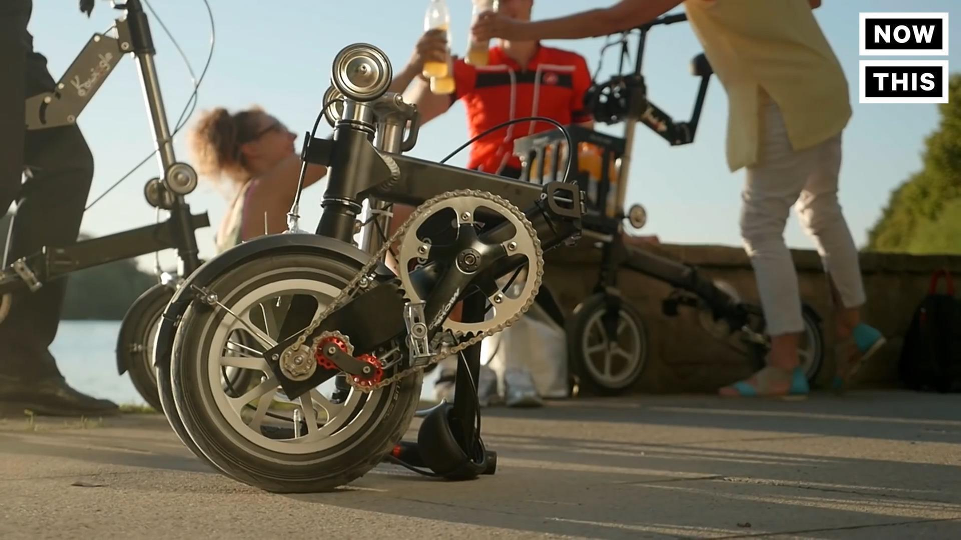 This Bike Folds Up In Ten Seconds