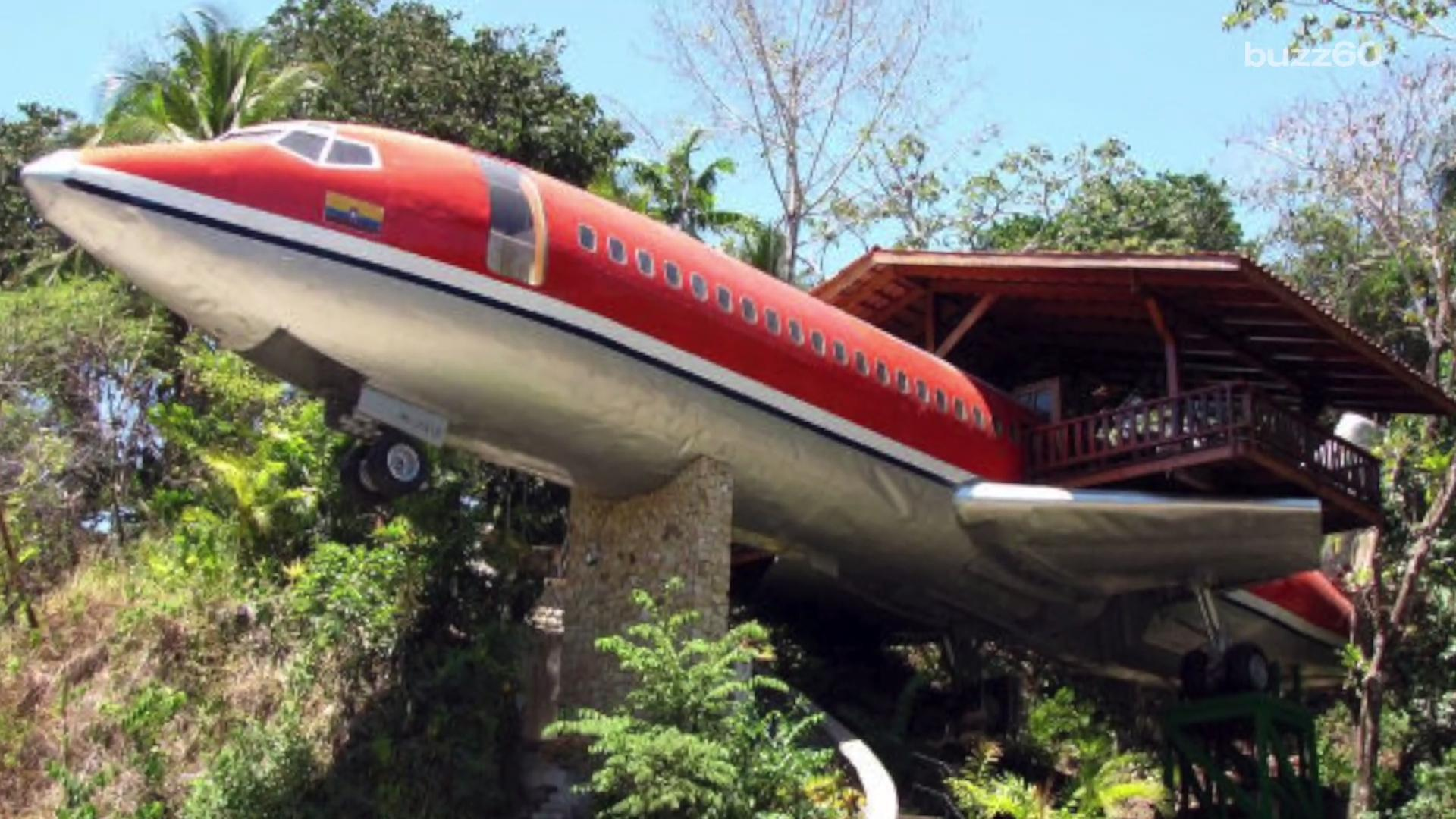 Stay in This Airplane Turned into a Hotel in Costa Rica