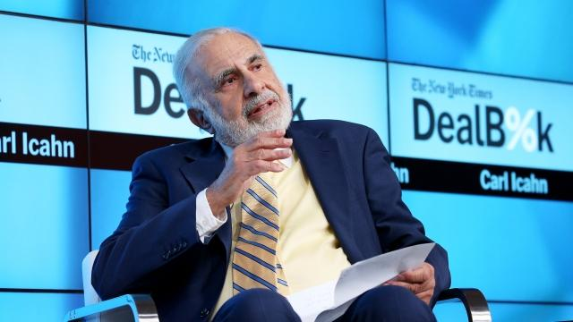 Trump Taps Investor Carl Icahn as Special Regulatory Adviser