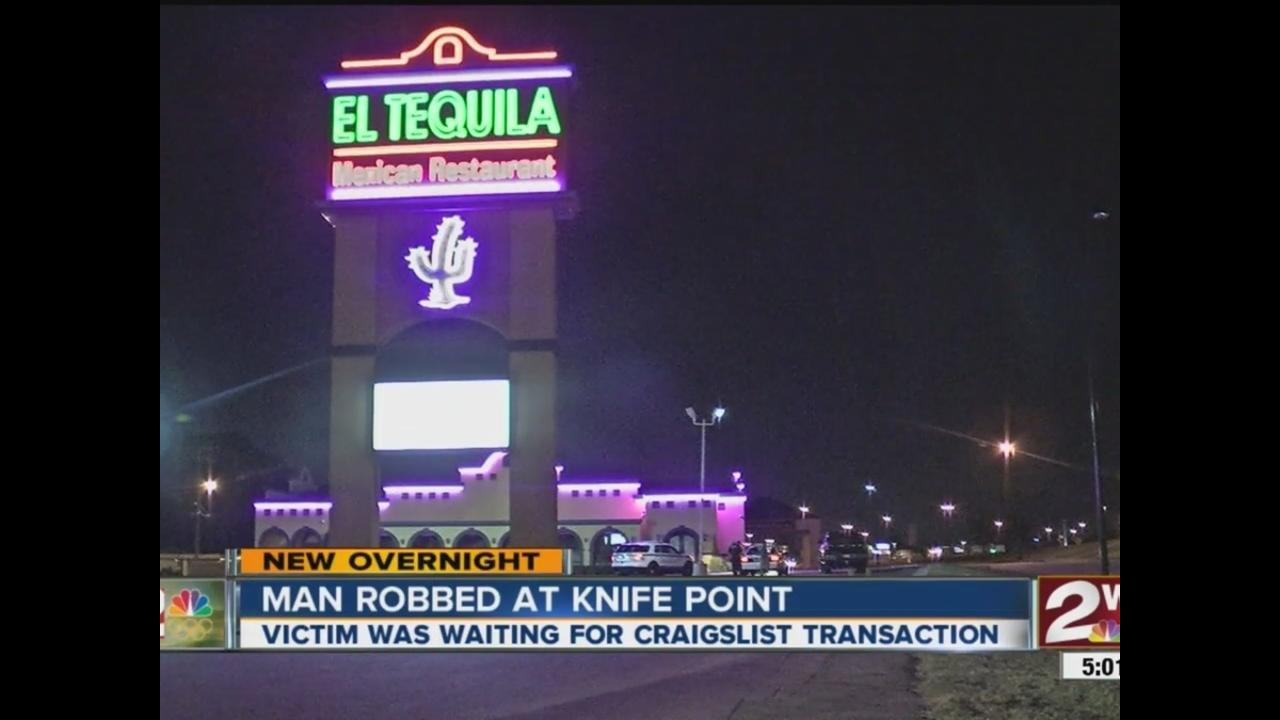 man waiting for craigslist transaction robbed at el tequila in