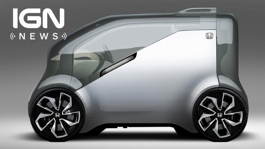 Honda NeuV Concept Car to Be Revealed