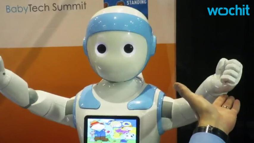Depressing Companion Robot At 2017 CES