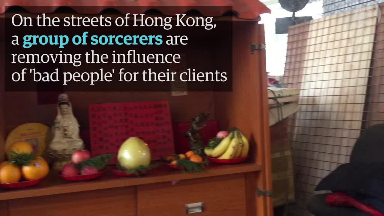 'Villain hitting' in Hong Kong: the women using magic to punish politicians