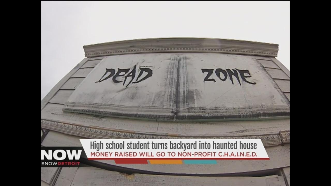 riverview teen turns backyard into haunted house to raise money
