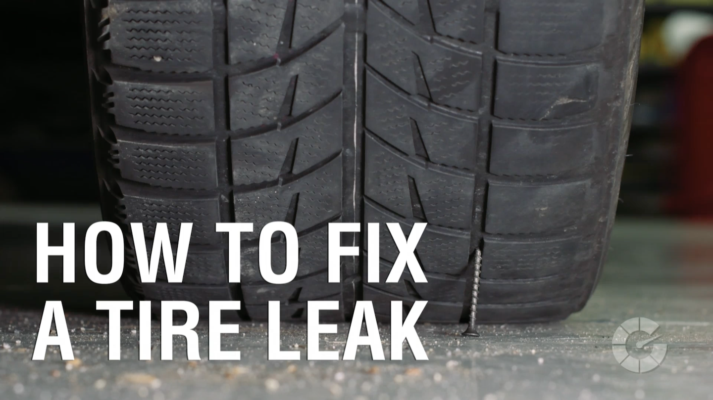 how to fix a tire leak autoblog wrenched autoblog