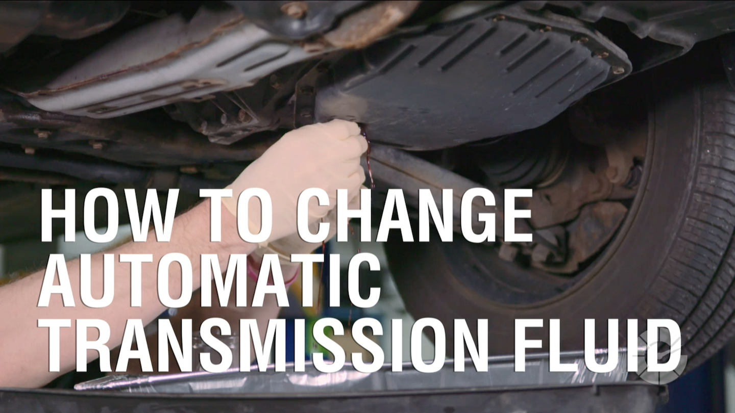 How To Change Automatic Transmission Fluid | Autoblog Wrenched
