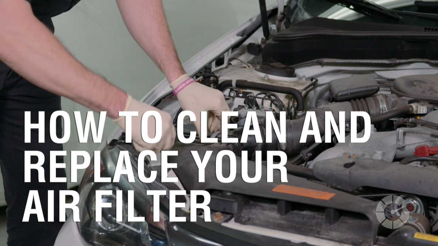 How To Clean And Replace Your Air Filter Autoblog Wrenched 2002 Toyota Fuel Location