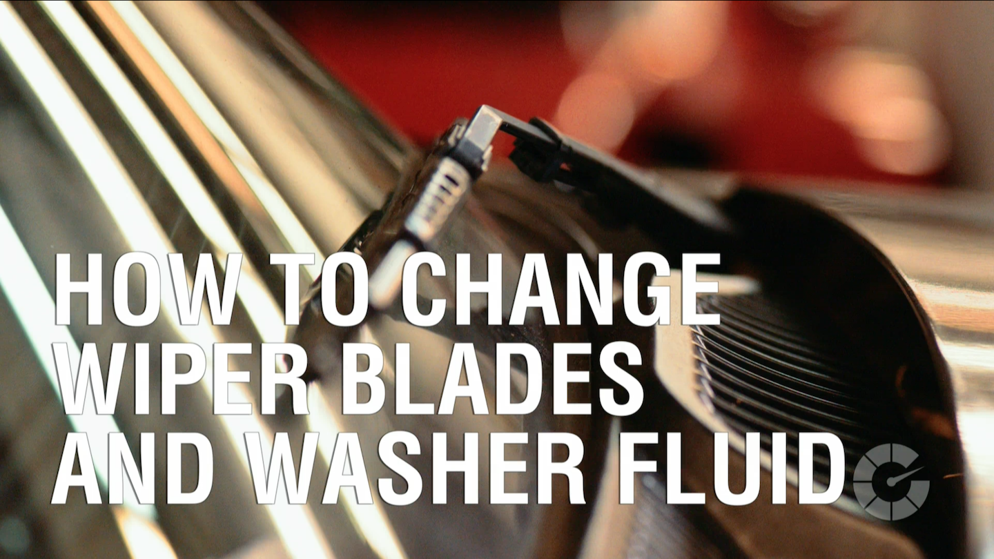 How To Change Wiper Blades And Washer Fluid | Autoblog Wrenched