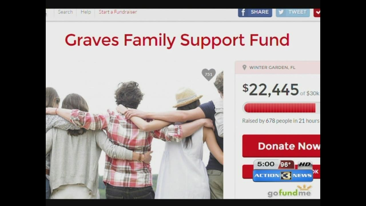 gofundme account set up to help graves family funeral costs kmtv com
