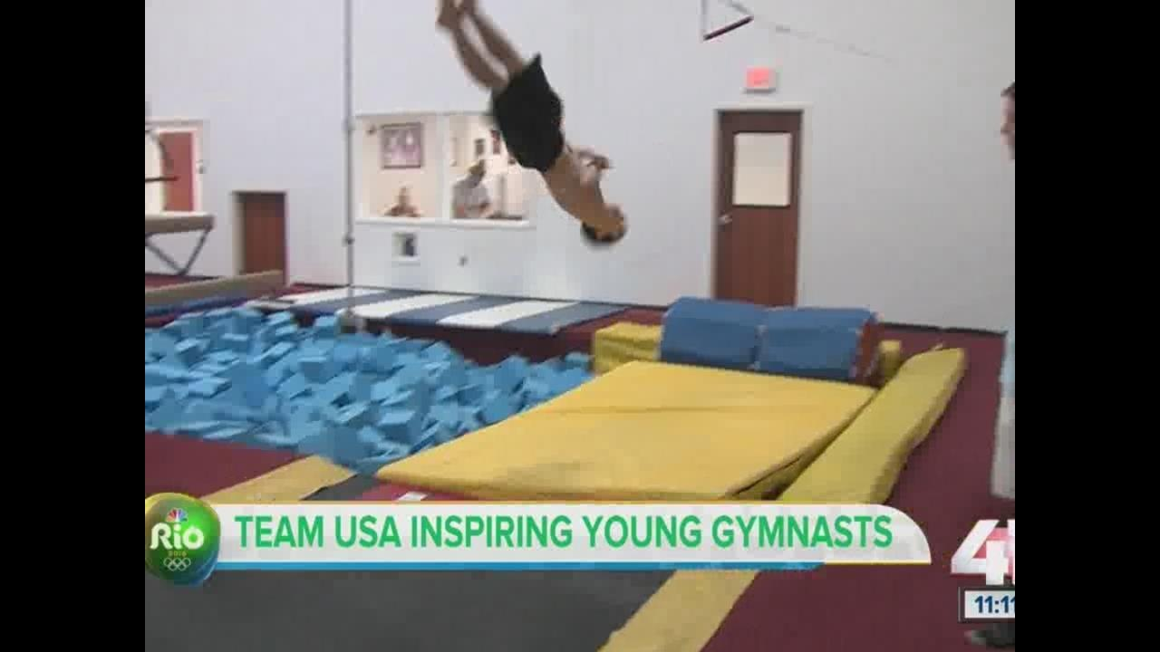 summer olympics shine spotlight on gymnastics kshb com 41 action