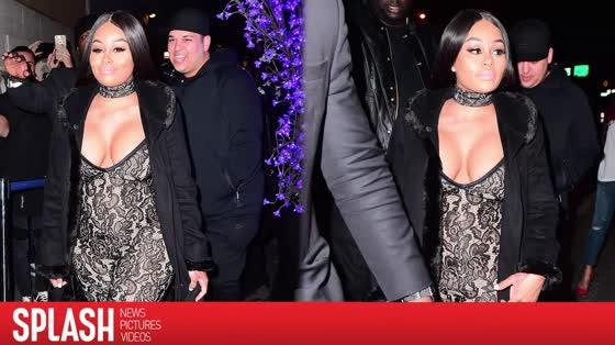 Blac Chyna and Rob Kardashian Make a Strip-Club Appearance in New York