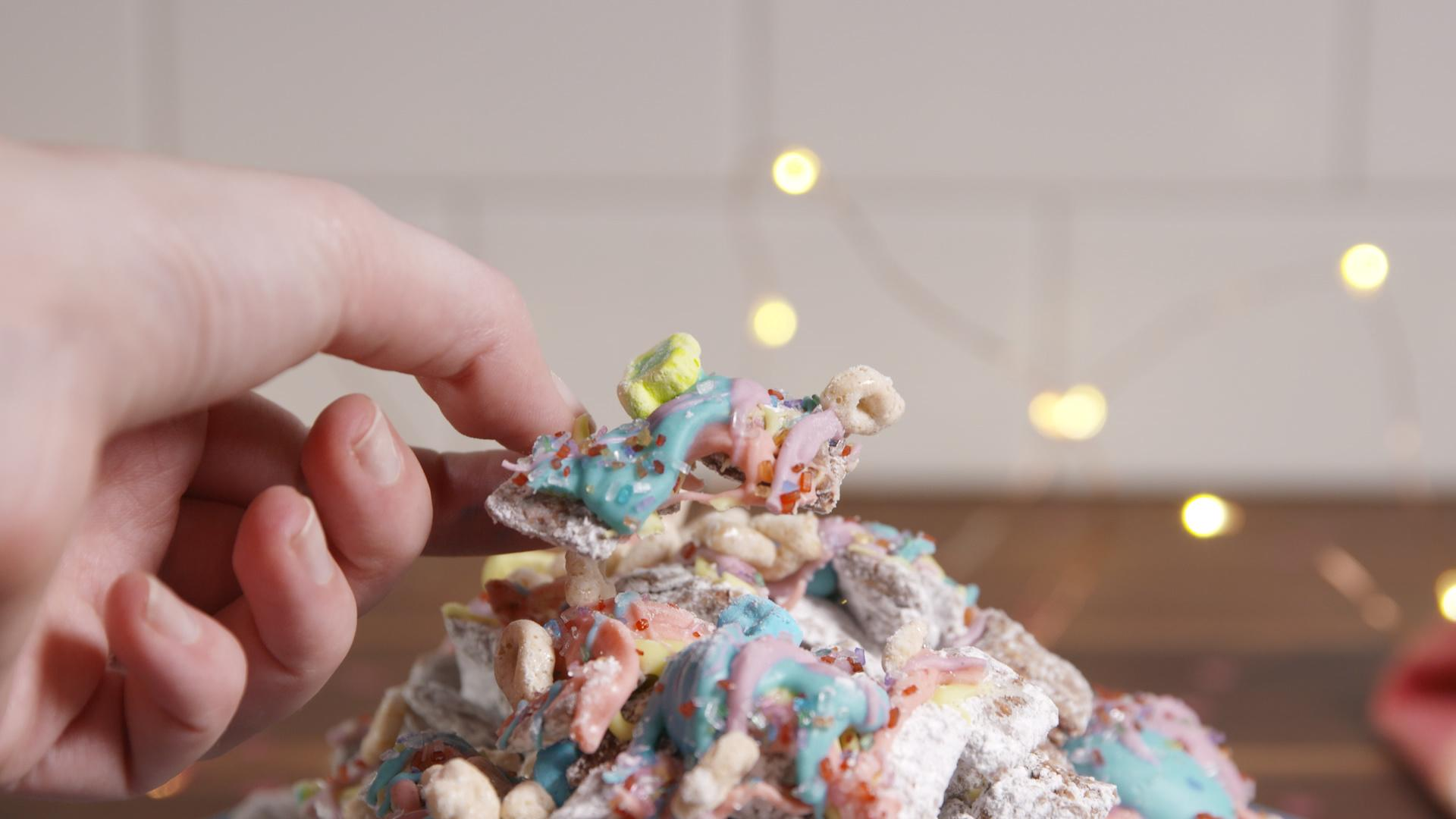 These Rainbow Muddy Buddies Will Be Gone Before You Can Say