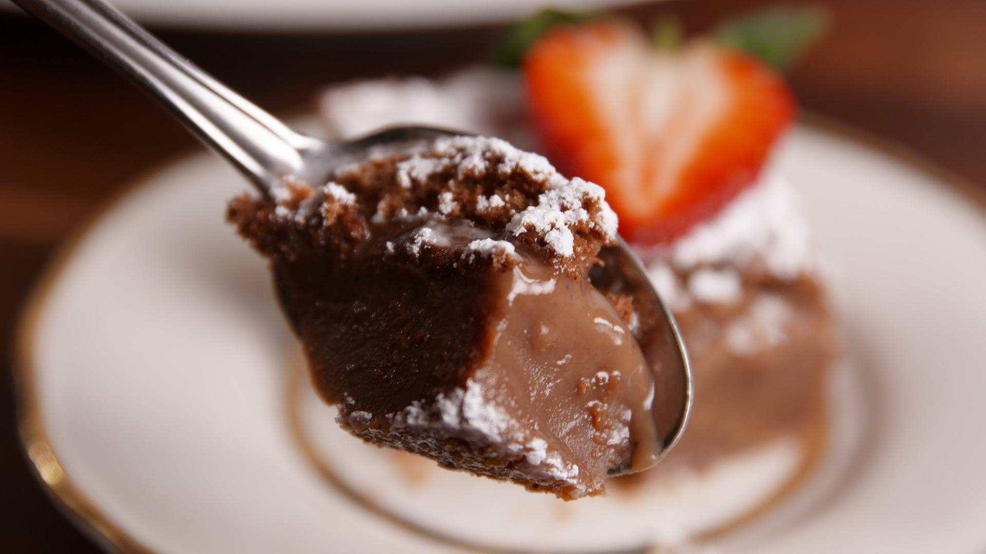 This Chocolate Custard Cake Is Pure Magic