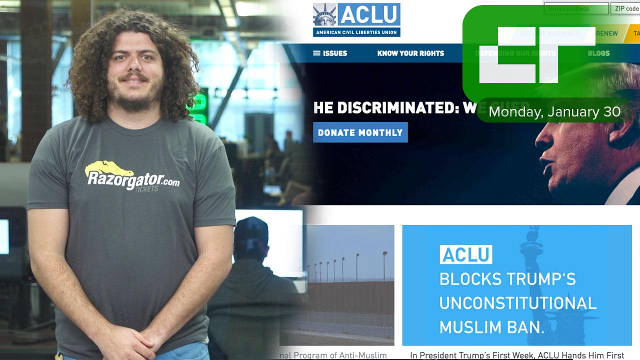 Crunch Report | Tech Execs Are Matching Donations to ACLU