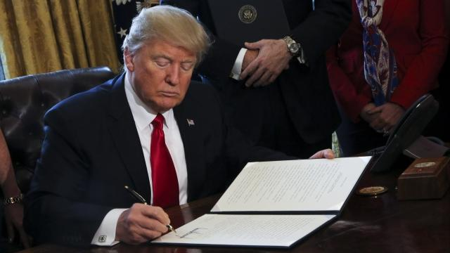 Trump Takes Aim at Dodd-Frank With Executive Order