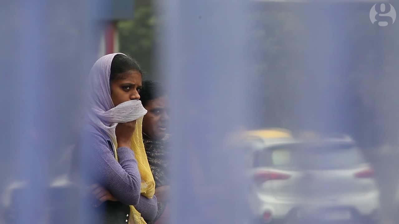 How bad is Delhi's air? We strapped a monitor to a rickshaw to find out