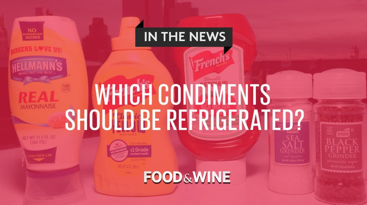 4 Condiments You Should Always Keep in the Fridge