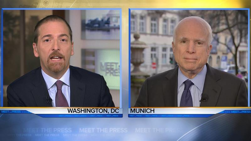 'More Hope Than Belief': McCain's Confidence in Congressional Oversight of the President
